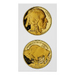 2006 American Buffalo Proof Gold Bullion Coin Poster