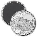 2006 Colorado State Quarter magnet