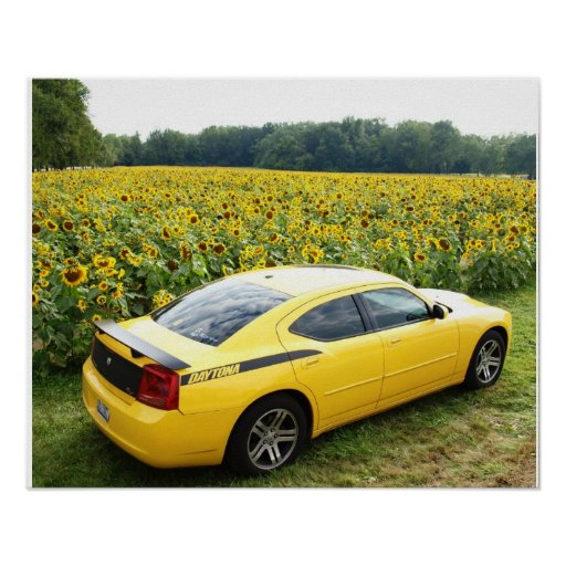 2006 Dodge Charger R/T Top Banana Poster