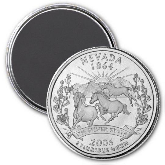2006 Nevada State Quarter magnet