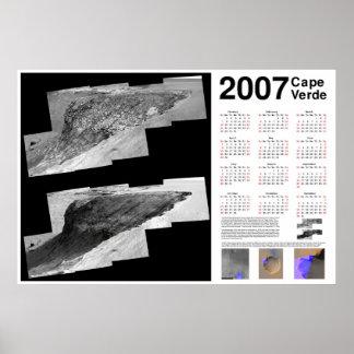 2007 Cape Verde (Mars) Calendar Poster