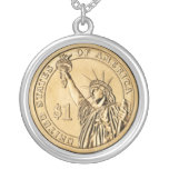 2007 Presidential One Dollar Coin from U.S. Mint Jewelry