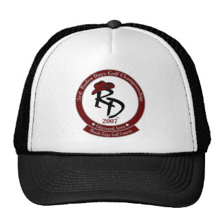 2007 Rodeo Golf Hat