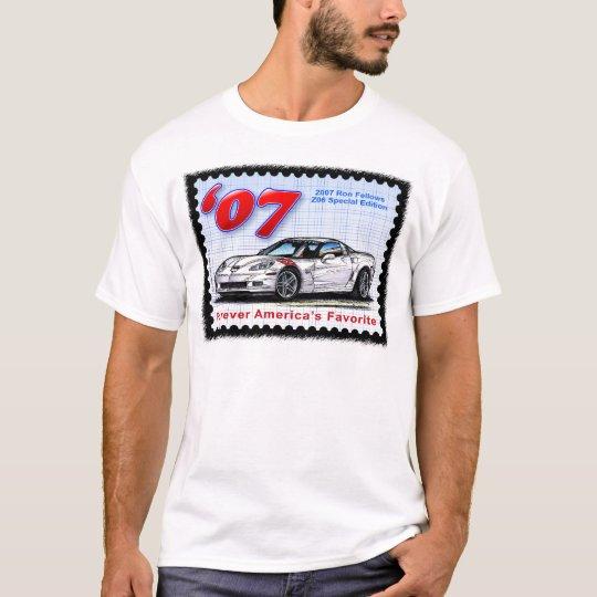 2007 Ron Fellows Z06 Corvette T-Shirt