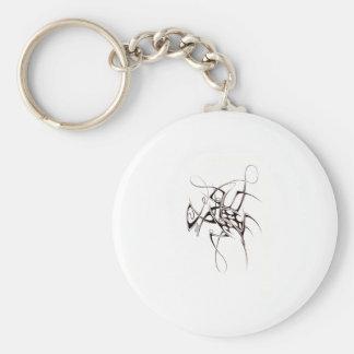 2007 tribal basic round button key ring