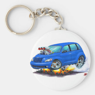 2008-10 PT Cruiser Blue Car Key Ring