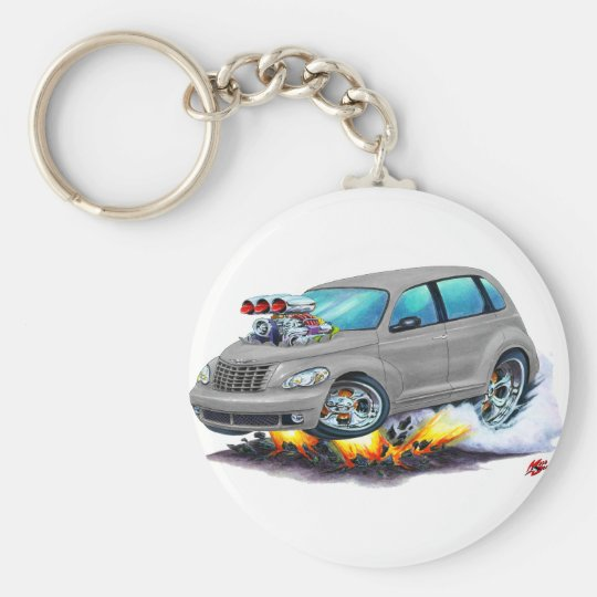 2008-10 PT Cruiser Grey Car Key Ring