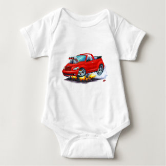 2008-10 PT Cruiser Red Convertible Baby Bodysuit