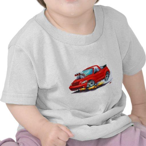 2008-10 PT Cruiser Red Convertible Tee Shirts