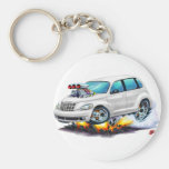 2008-10 PT Cruiser White Car Key Chains