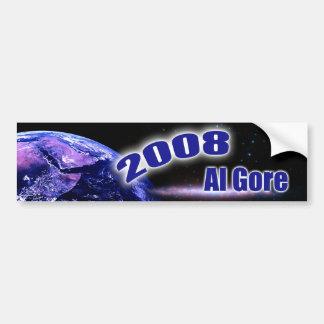 2008 Al Gore Car Bumper Sticker