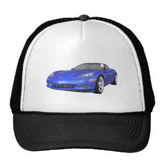 2008 Corvette: Sports Car: Blue Finish: Cap