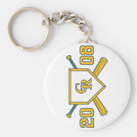 2008 CR Softball Keychains