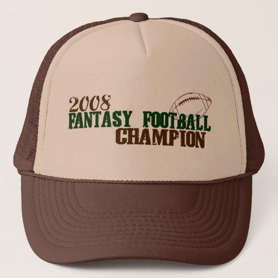 2008 Fantasy Football Champ Cap