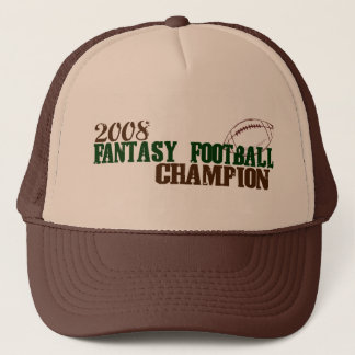 2008 Fantasy Football Champ Trucker Hat