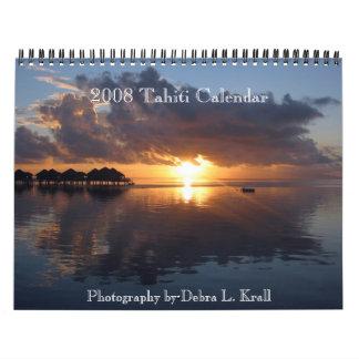 2008 or 2009 Tahiti Calendar