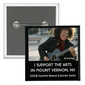 2008 Summer Breeze Concert Series 15 Cm Square Badge