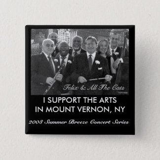 2008 Summer Breeze Concert Series 15 Cm Square Badge