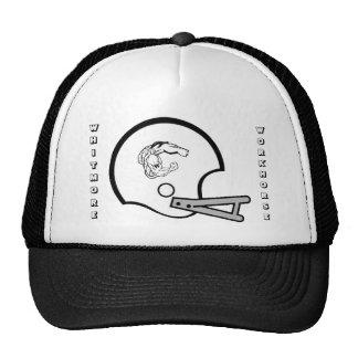 2008 Workhorse on old school helmet Hat