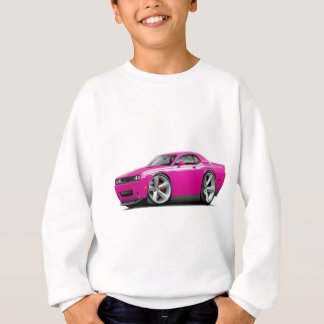 2009-11 Challenger RT Fuschia-White Car Sweatshirt