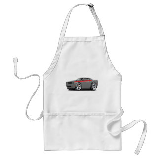 2009-11 Challenger RT Grey-Red Car Standard Apron