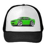 2009-11 Challenger RT Lime-Black Car Trucker Hat