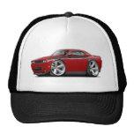 2009-11 Challenger RT Maroon-Black Car Hat