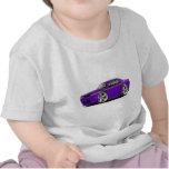 2009-11 Challenger RT Purple-Black Car Shirts