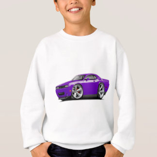 2009-11 Challenger RT Purple-White Car Sweatshirt