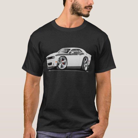 2009-11 Challenger RT White-Black Car T-Shirt