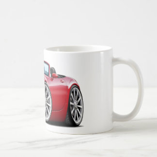 2009-13 Miata Red Car Coffee Mug