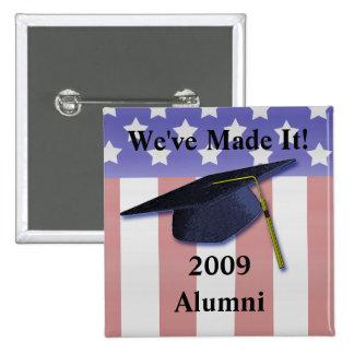 2009 Alumni Button