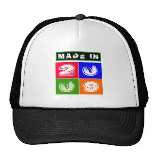 2009 Birthday Designs Hats