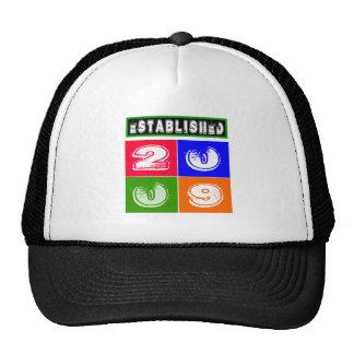 2009 Birthday Designs Mesh Hats