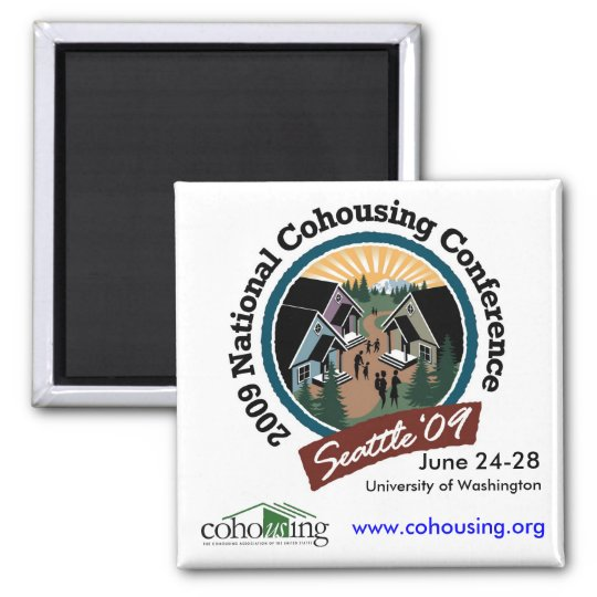 2009 Conference Magnet - Square