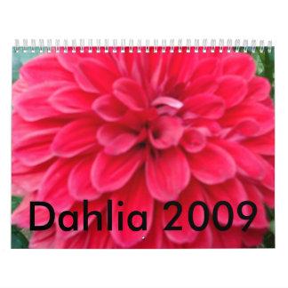 2009 Dahlia Calendar