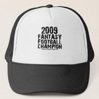 2009 FANTASY FOOTBALL CHAMPION TRUCKER HAT