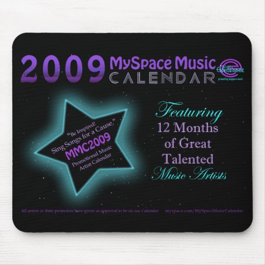 2009 MMC - PROMOTIONAL MOUSE PAD - CUSTOMIZED