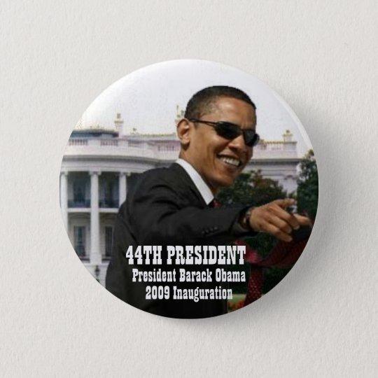2009 obama inauguration 6 cm round badge