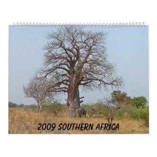 2009 Southern Africa Wall Calendar