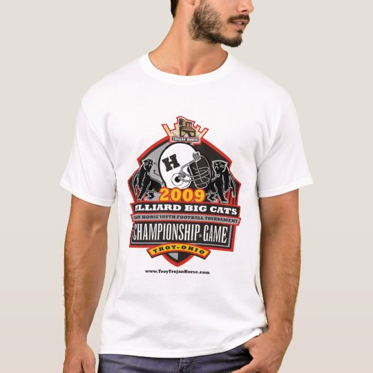 2009 Trojan Horse Championship Game - Hilliard T-Shirt