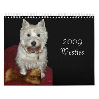 2009 Westies Wall Calendars