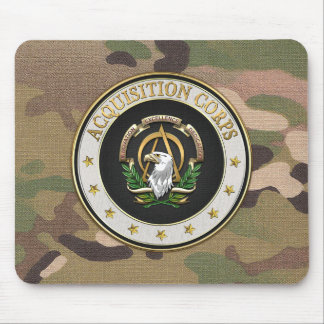 [200] Acquisition Corps (AAC) Branch Insignia [3D] Mouse Pad