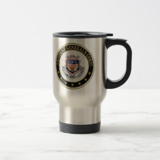 [200] AG Corps Regimental Insignia [3D] Travel Mug