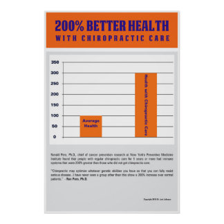 200% Better Health - Orange Version Poster