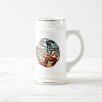 [200] Celtic Sacred Art - Three Dogs Beer Steins