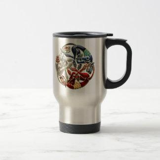 [200] Celtic Sacred Art - Three Dogs Travel Mug