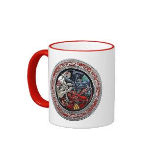 [200] Celtic Treasures - Three Dogs on Silver Mugs