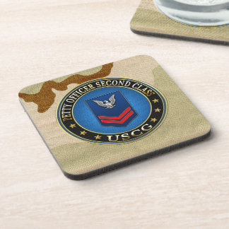 200 CG Petty Officer Second Class PO2 Drink Coasters