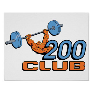 200 Club Poster